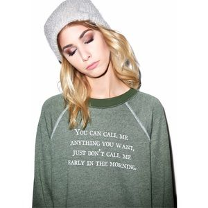 Wildfox | Call Me Kim's Sweater