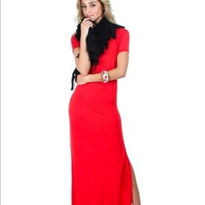 c8e94ecbaf7 Dresses   Skirts - Plus size Maxi dress with side slit
