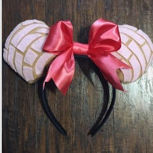 Handmade Pan Dulce Mickey ears