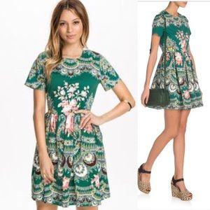 MSGM Dresses & Skirts - MSGM mini floral dress size 40 Made in Italy