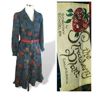 Dorothy Schoelen Boho Prairie Chic Skirt Blouse