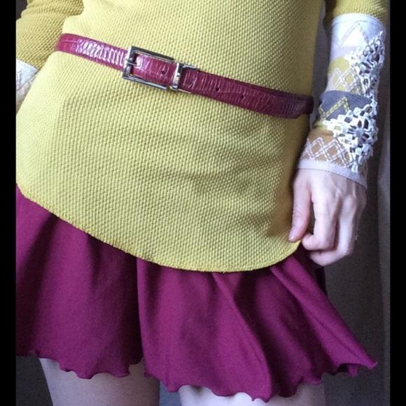 J. Crew Accessories - 🛍 Reversible Belt leather pinks skinny waist