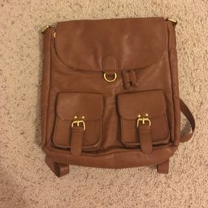 Handbags - Leather backpack/bag