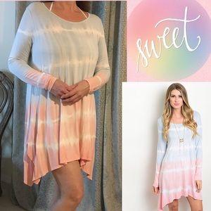 LDB Dresses & Skirts - ✂️FINAL PRICE✂️🆕Pastel Tie-Dye Dress