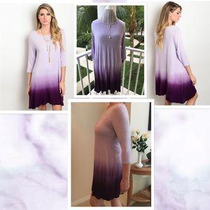 LDB Dresses & Skirts - ✂️FINAL SALE✂️🆕Lilac Purple Ombré Dress