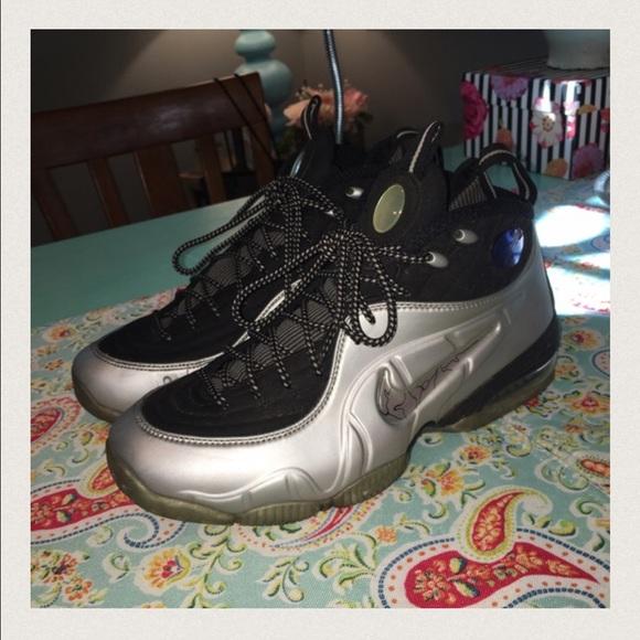 066153b3ecb46 Nike Air Max 1/2 Cent Penny Silver Foamposites 8.5