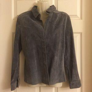 Jackets & Blazers - Gray sweat jacket