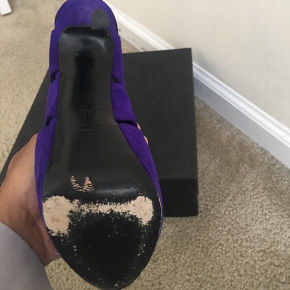 used giuseppe zanotti shoes