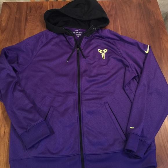 Kobe Bryant KB24 Nike Hooded Sweatshirt