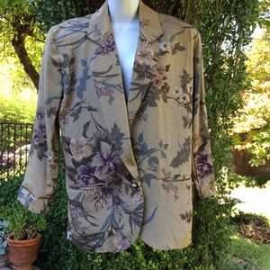 30% OFF BUNDLESSilky Floral Jacket