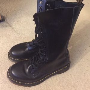 Dr. Martens laced up boots