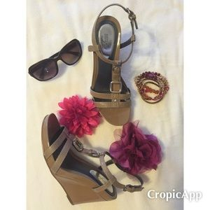 Alfani Shoes - Alfani Wedge Sandals