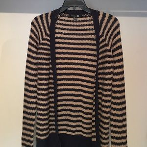 Forever 21 Sweaters - Striped Button Up Cardigan