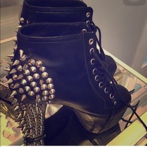Jeffrey Campbell Shoes - Jeffrey Campbells spiked litas