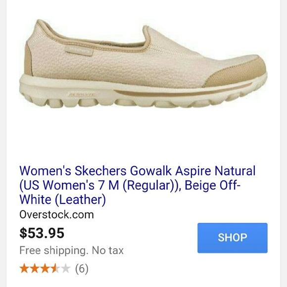 00a18eb33471 Skechers GOwalk - Aspire natural color