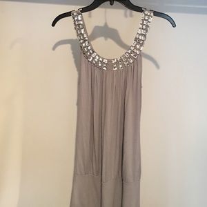 Forever 21 Dresses - Gray Semi Formal Dress