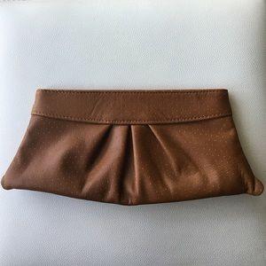 Lauren Merkin Handbags - Lauren Merkin brown clutch
