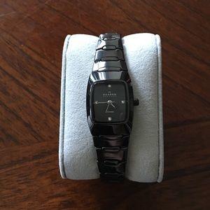 Skagen Accessories - Skagen Women's Black Ceramic Watch