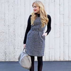 Banana Republic Dresses & Skirts - Banana Republic Tweed Belted Dress