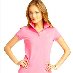 Lilly Pulitzer Tops - Lilly Pulitzer Polo Shirt Top