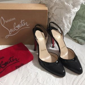 Christian Louboutin Shoes - Gorgeous Christian Louboutin sling back heels