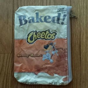 Accessories - Baked Cheetos Coin Purse/Make Up Bag