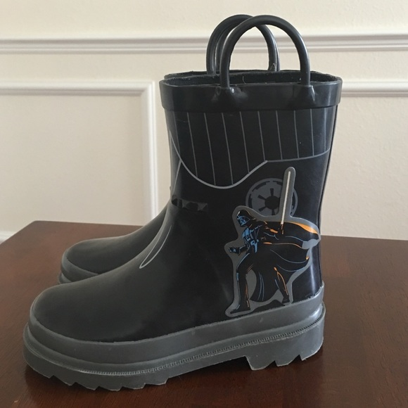 Disney - Star Wars darth Vader Disney store rain boots from ...