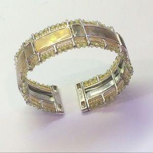 Vintage Jewelry - Beautiful Rare Beaded Monet Vintage Bracelet