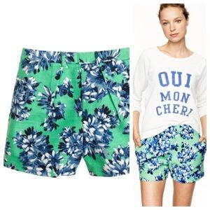 J. Crew tap shorts in photo floral