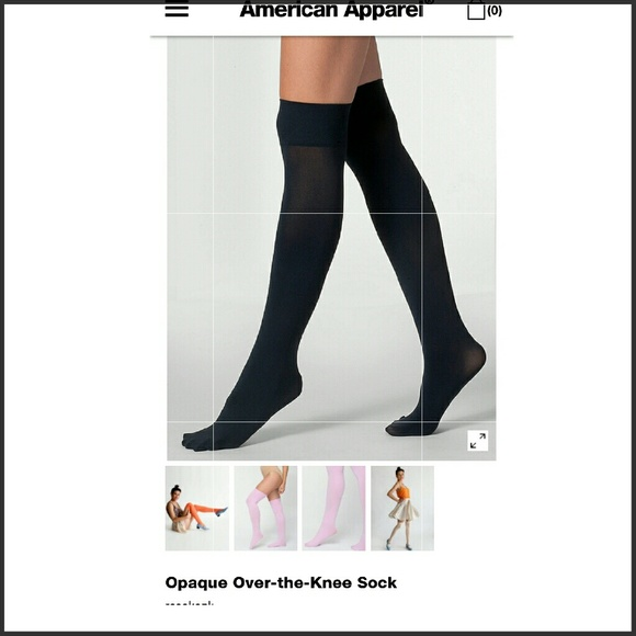 American Apparel Accessories - AA Over the Knee Socks