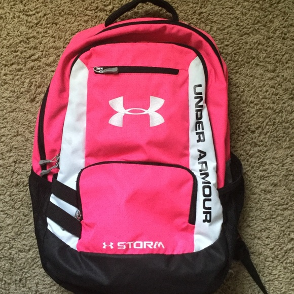 884a080d90c Under Armour Bags   Pink Under Armor Backpack   Poshmark
