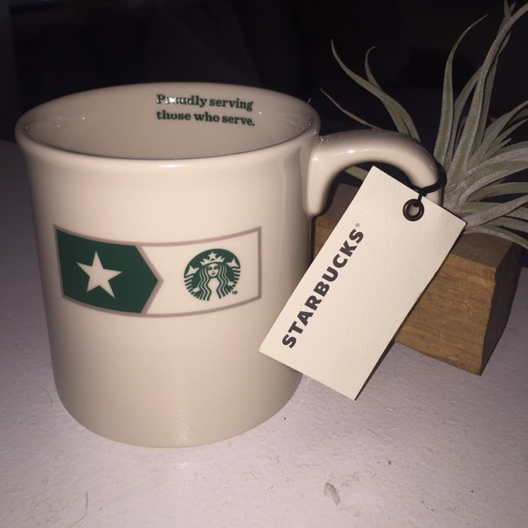 Starbucks Accessories | Rare Collectors Military Mug | Poshmark