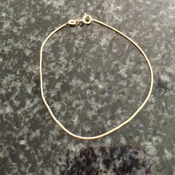 Jewelry 10k Gold Bracelet Made In Italy Poshmark