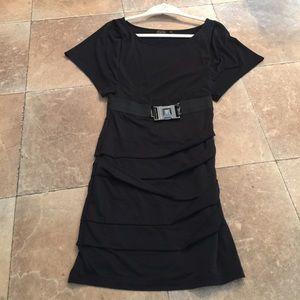 Faith connexion Dresses & Skirts - Faith connexion black dress with buckle