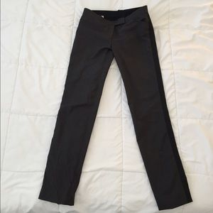 "Band of Outsiders Pants - Gray and Black Band of Outsiders ""Boy"" Pants."