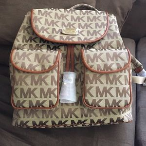 Michael Kors Handbags - NWT Michael Kors backpack