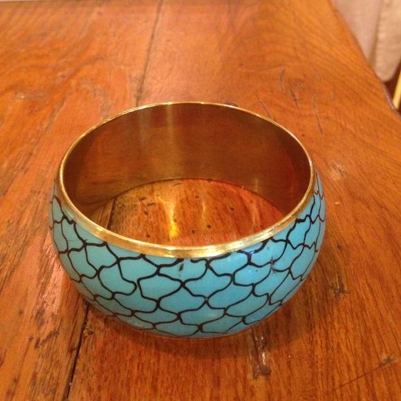 Jewelry - Blue Cuff Bracelet