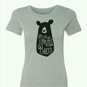 "Salt Lake Clothing Tops - NWT ""Momma Bear"" TEE"