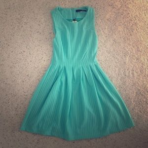 LAST ONE Sugarlips Mint Green Fit and Flare Dress