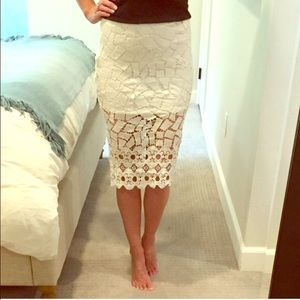 Nasty Gal Dresses & Skirts - ASTR pencil skirt