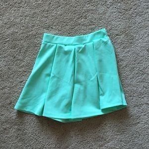 Dresses & Skirts - Neon skater skirt