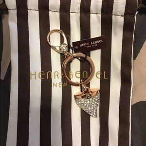 henri bendel Accessories - NWT Henri Bendel shark took keychain