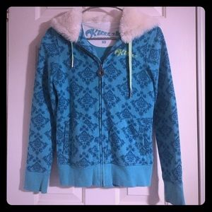 Kirra fur hoodie