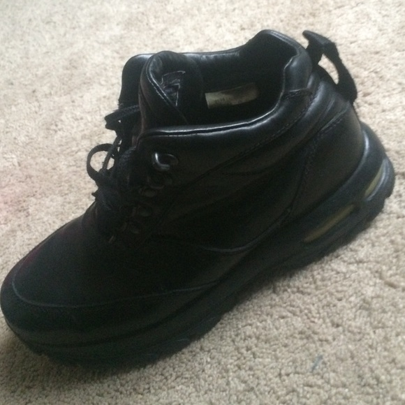 63 nike other all black nike acg boots from brandon