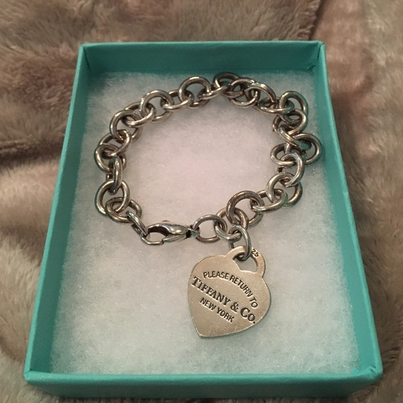 de2987ebb Tiffany & Co. Jewelry | Return To Tiffany Heart Tag Charm Bracelet ...