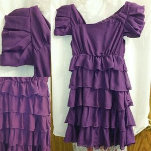 Final Price Clearance sale Cute Purple Party Dress