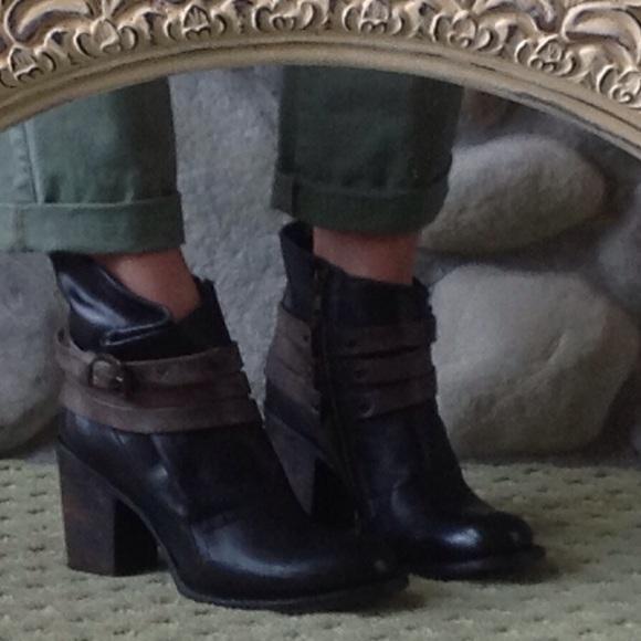057f1aa2f0f 🍃💕Steve Madden Freebird Blaze All Leather Bootie Boutique