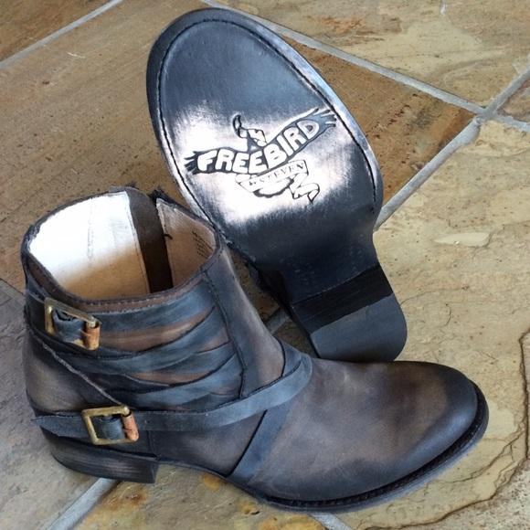 aed32e70f44 🍃💕NIB Steve Madden Freebird Leather Sammi Boot