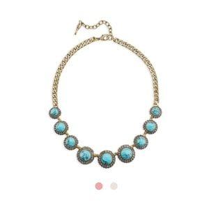 🇱🇷 SALE🇱🇷Turquoise pavé necklace