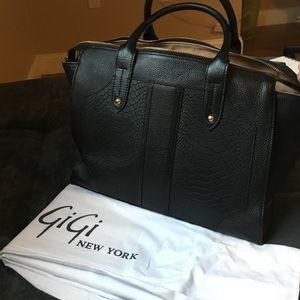"""Handbag - """"Gates Satchel"""" Gigi New York"""